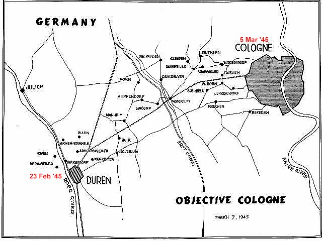 Map - Objective Cologne